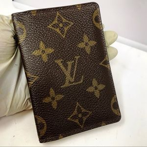 Louis Vuitton pocket organizer monogram card case